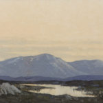 Bog pool in Wicklow by Paul Henry