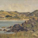 Donegal Coastal Landscape by Maurice C. Wilks