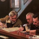Mullen's Bar, Cootehill by John A. Blakey