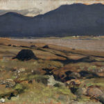 Turf Stacks in Donegal by James Humbert Craig