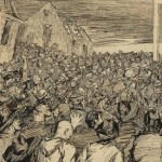 Jack B. Yeats' The Sack of Baltimore