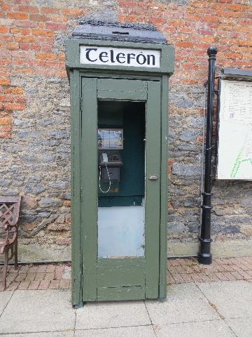 Old fashioned telephone box - From-Ireland net