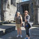 Cassie & Liz, St. Audoen's Church, Dublin 2013