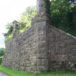 Wall, Church of Ireland, Attanagh, Kilkenny