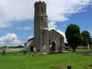 St. Canice's, Aughaboe (Aughaboe), Laois (Queen's Co.), Ireland