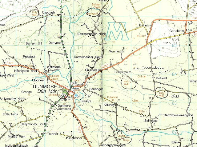 Osi Map Of Ireland.Ordnance Survey Discovery Series Maps Co Galway
