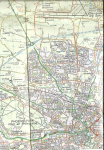 Ordnance Survey Discovery Series Map No. 50 : Dublin