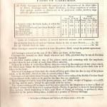 1834 Dublin. Coach & Jaunting car fares  p. 1