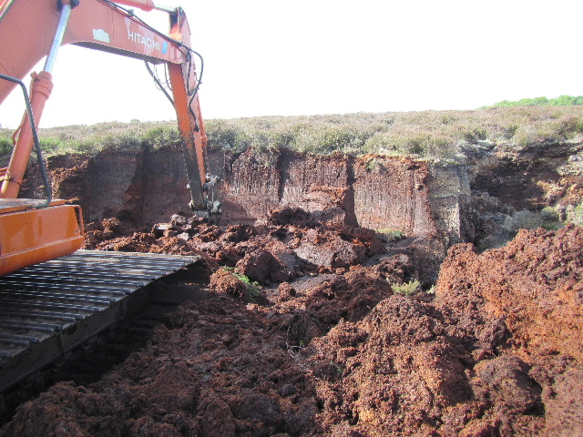 Bog turf the making of for Soil xat cut off