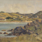Donegal Coastal Landscape by Maurice C. Wilks