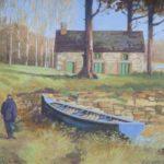On Lough Ramor, Cavan by John Francis Skelton