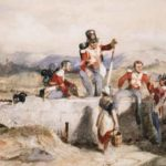 Soldiers of the 48th Regiment, county Carlow 1848 by Erskine Nicol