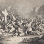 The Massacre at Wexford Cross, September 1649 by Holbrooke