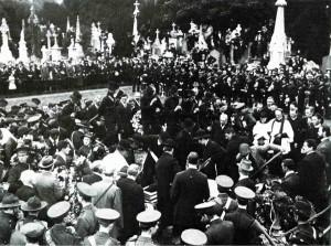 Funeral of O'Donovan Rossa in Glasnevin, Dublin