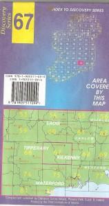 Discovery Series Ordnance Survey Map : Kilkenny